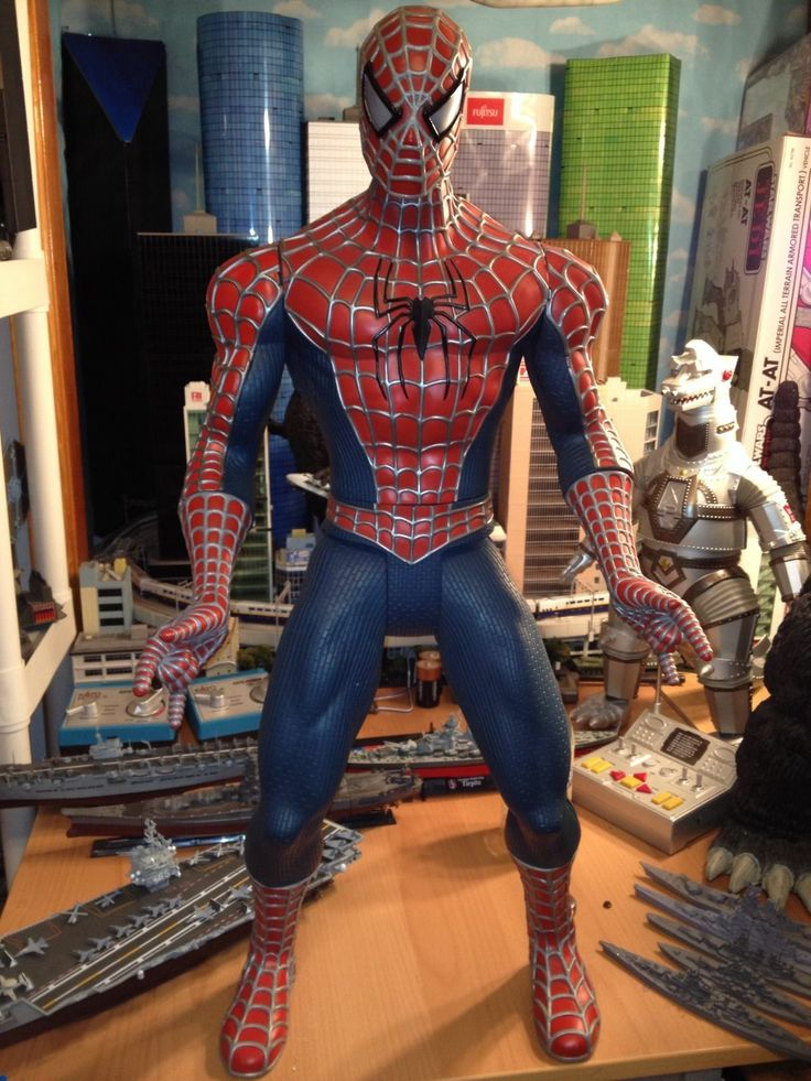 18 Inch Spider Man 2 Toy : Spiderman quot inches toy biz hasbro costco jumbo