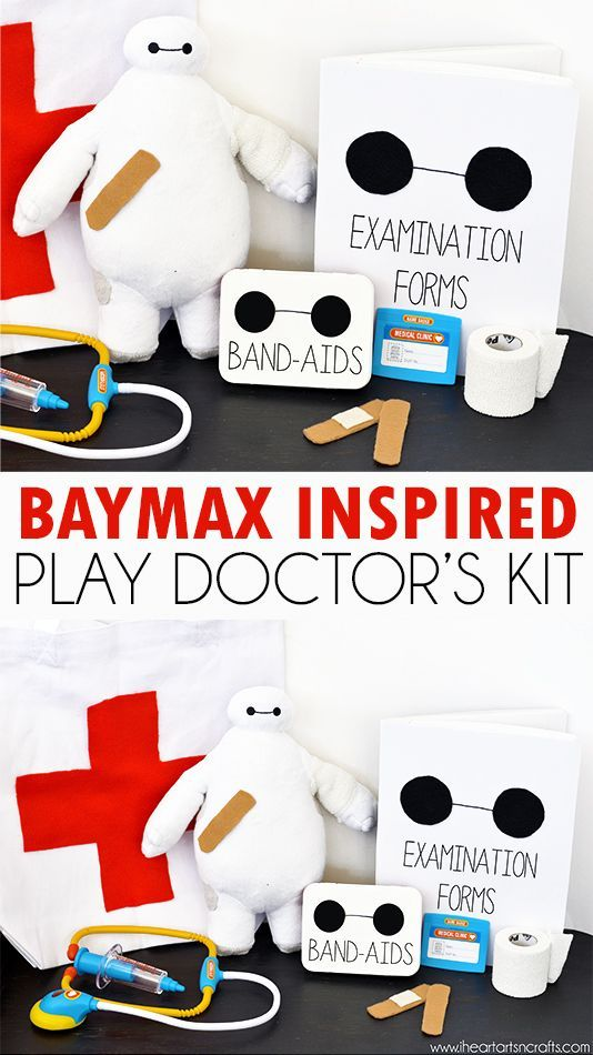 Baymax From Big Hero 6 Inspired Play Doctor's Kit #BigHero6Release #Ad