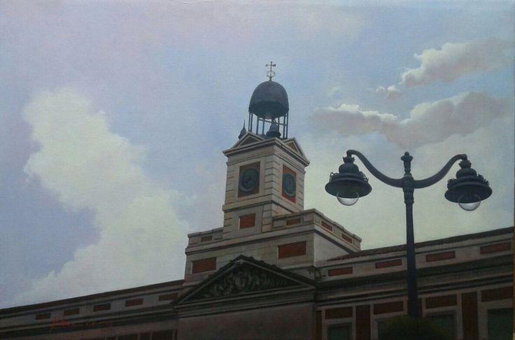 Luz en Sol 40x60 cm by Jose Higuera http://www.josehiguera.com http://www.facebook.com/joseyhiguera