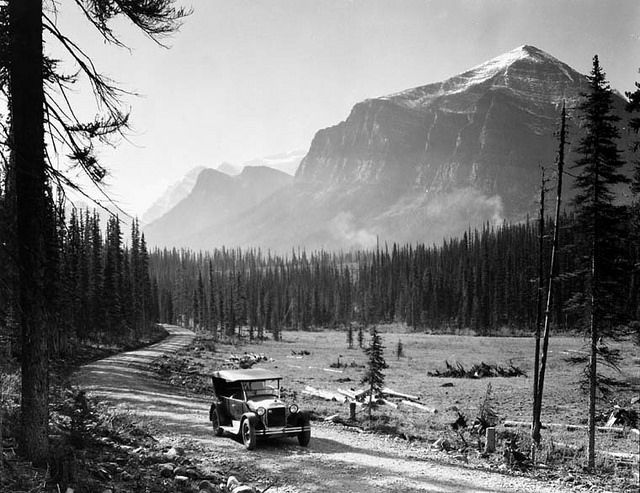 Temple, Saddle, and Fairview Mountains, Banff National Park, Alberta / Les monts Temple, Saddle et Fairview au parc national Banff, en Alberta | by BiblioArchives / LibraryArchives