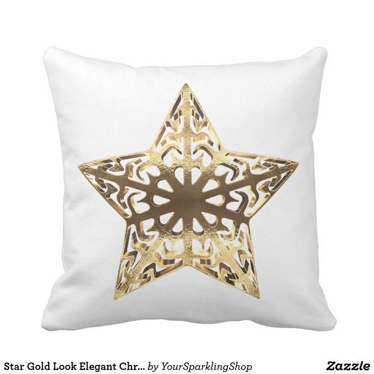 Star Gold Look Elegant Christmas Decor