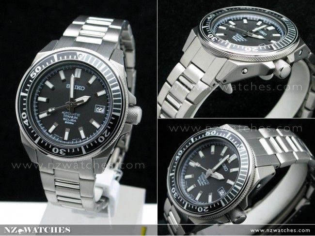 BUY Seiko Prospex Diver Scuba Titanium Sports Watch SBDA001 SBDA001J - Buy Watches Online | SEIKO NZ Watches