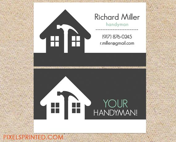 24 best Logos images on Pinterest | Handyman logo, Business cards ...