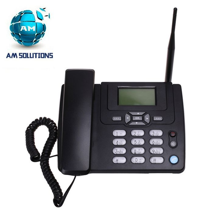 GSM home wireless telephone cordless phone 900/1800MHz  with FM radio fixed wireless terminal for home desktop phone for older