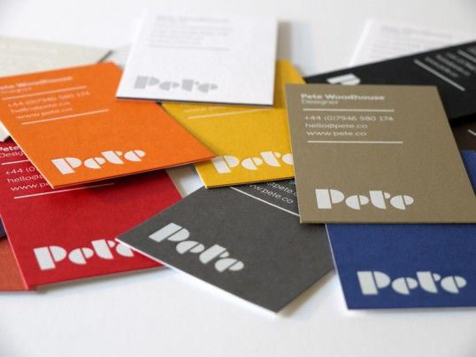 519 best Business Cards images on Pinterest Creativity, Design - visiting cards