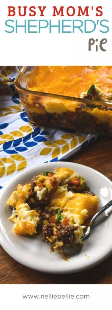 An easy ground beef dinner recipe that is the best of comfort food! Shepherds Pie (or cottage pie when made with ground beef) is a quick and easy family meal. Made with prepared ingredients to get it in the oven even faster! via @huttonjanel