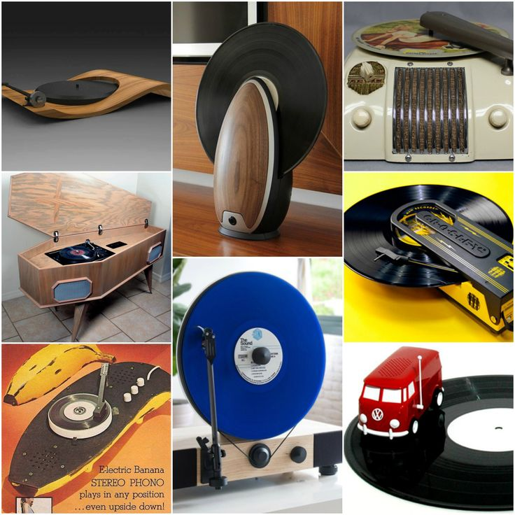 Some of these are cool but some are just damn strange! #weird #individual #vinyl #recordplayers
