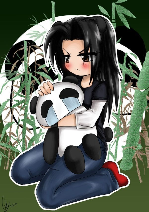 panda emo girl by - photo #3