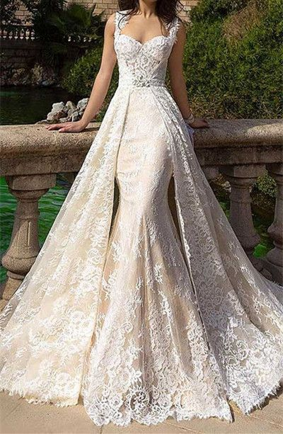 Generous Lace Mermaid Panel  A Line Sexy Party Prom Dresses 2017 new style  fashion evening gowns for teens girls