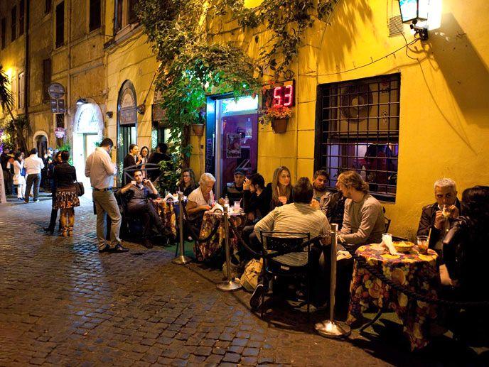 Trastavere neighborhood of Rome