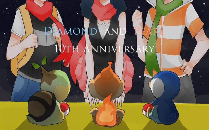 pokemon diamante y perla aniversario