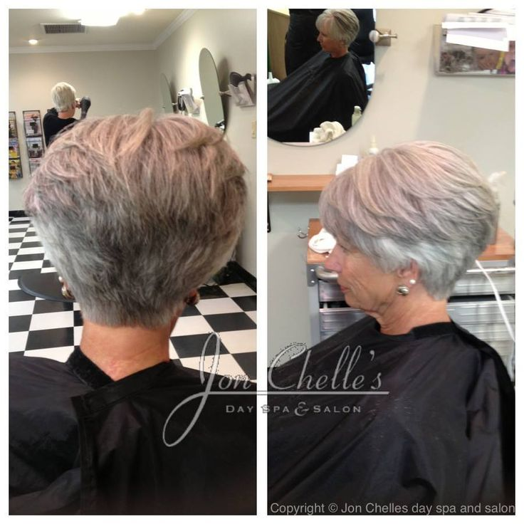 wedge haircuts for gray hair stacked s cut by winstead aveda 3301