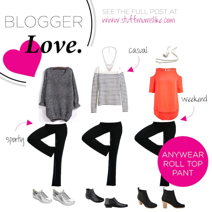 Love your Roll Top Pants? Discover even more ways to style your wardrobe favourites in our latest blogger love feature!