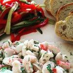 Skagen Röra/Scandinavian seafood mixture