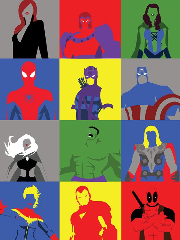 42 best superhero universe images on pinterest superhero for Minimal art hero