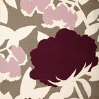 Thomas Paul, Plum shower curtain.  going to try to embrace the pink/marron bathroom...for now