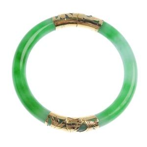 A striking jade bangle
