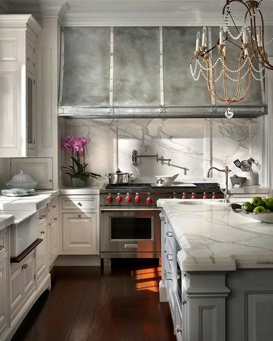 Classic kitchen with vintage touches