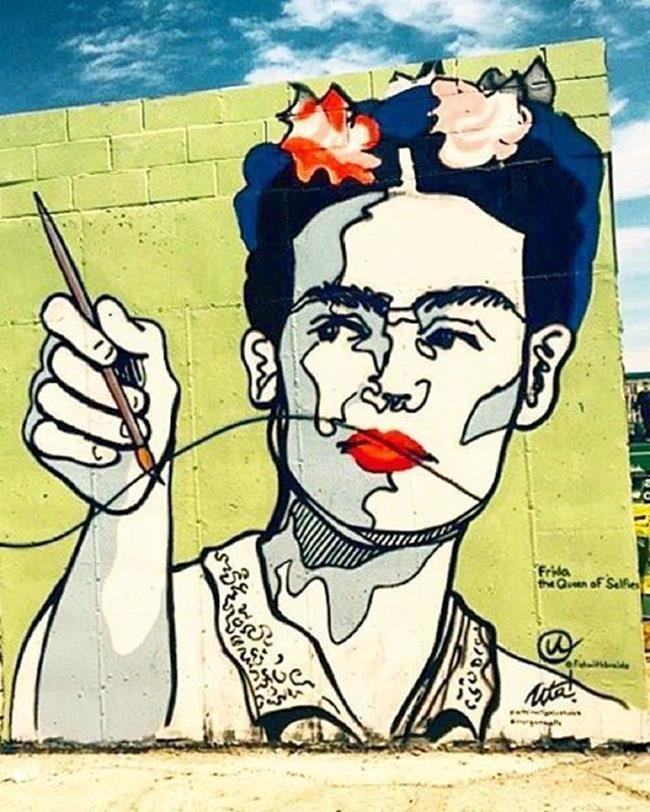 Frida Kahlo Hakkında Yapılmış 15+ Sokak Sanatı Eseri Sanatlı Bi Blog 2