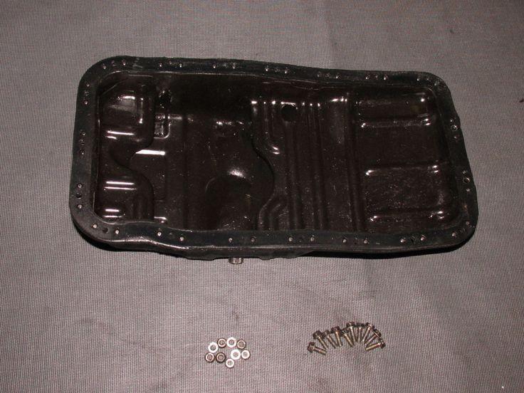 93 94 95 Honda Del Sol OEM B16 Engine Oil Pan