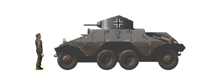 Steyr ADGZ - produced 1935-1937  20 mm KwK 35 L/45 gun, 2-3 × 7.92 mm MG37t machine guns49 produced