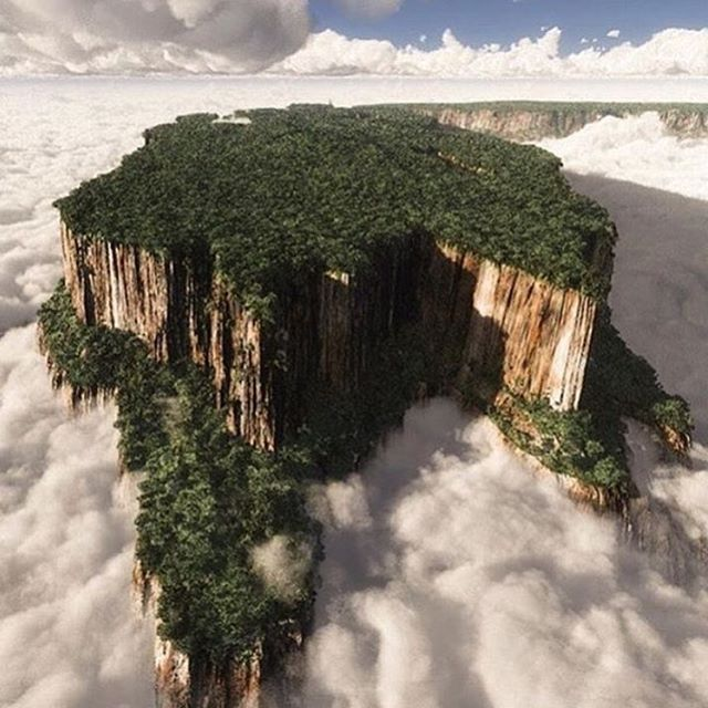 """Mount Roraima, Venezuela """"No matter where you are this fine Thanksgiving, we hope you're spending it with stunning views and loved ones. #tlpicks courtesy of @ffagund"""""""
