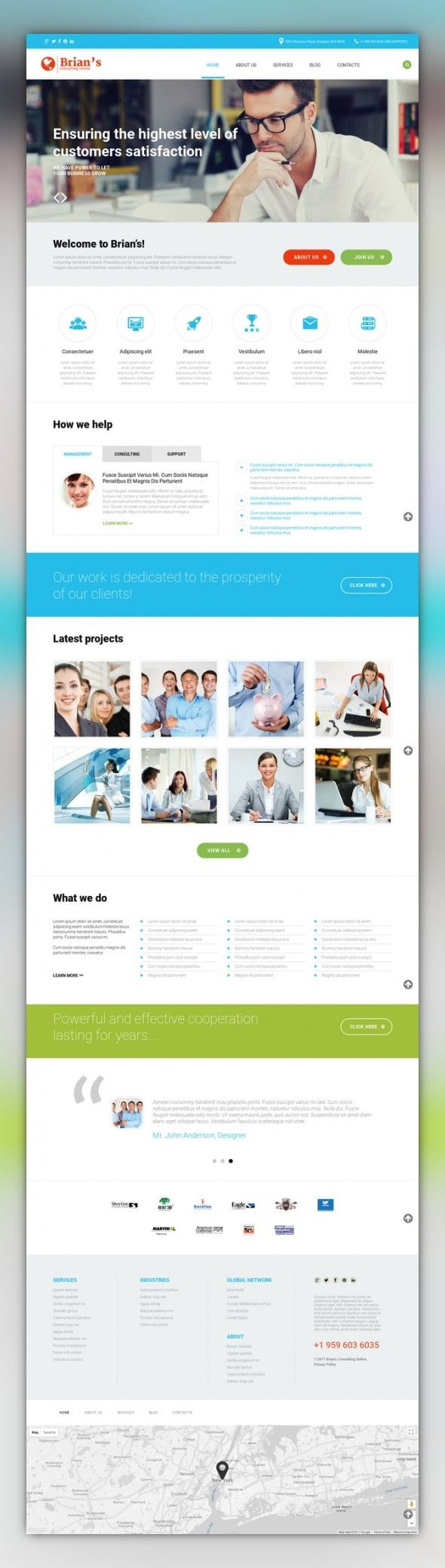 Consulting Agency WordPress Theme CMS & Blog Templates, WordPress Themes, Business & Services, Business Services, Consulting Templates