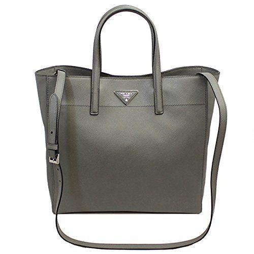 Prada Women's Gray Saffiano Leather Tote Bag W/strap Bn2666 Prada http://www.amazon.com/dp/B00RQ84IS4/ref=cm_sw_r_pi_dp_i8w6ub0YQ2FSS