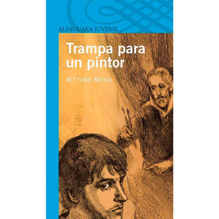 Trampa para un pintor-  Mª Isabel Molina El Greco recibe en su taller a las personas más importantes de la ciudad. Entre ellas se encuentra doña Simonetta, una vieja conocida, que ha ideado un oscuro plan contra el maestro. ¿Qué amenaza se cierne sobre la vida del pintor?