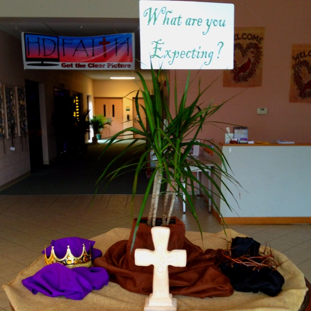 What are you expecting?  Palm Sunday