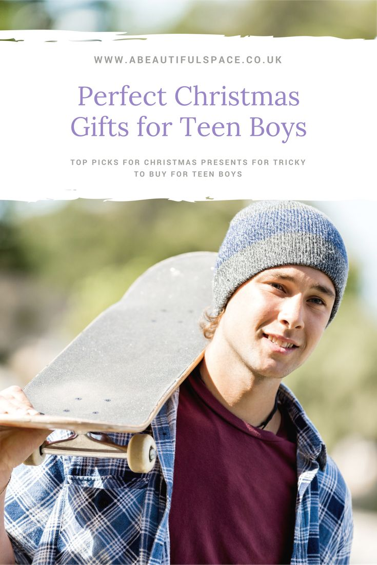 Christmas Gift Ideas for a Teen Boy - 10 awesome ideas