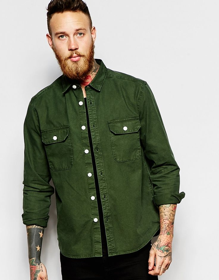 #ASOS #WorkerShirt