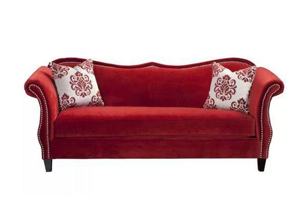 Best Camelback Sofas You Can Buy in 2021    ChosenFurniture   Velvet sofa living room, Premium ...