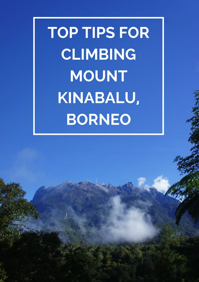 Tips for climbing Mount Kinabalu in Borneo