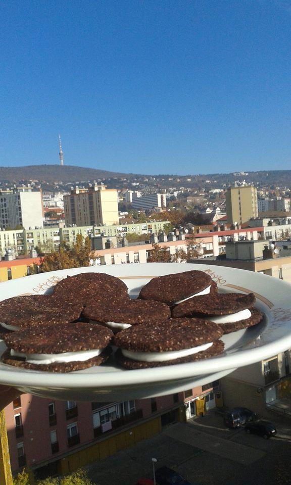 Paleo és vegán Oreo keksz recept