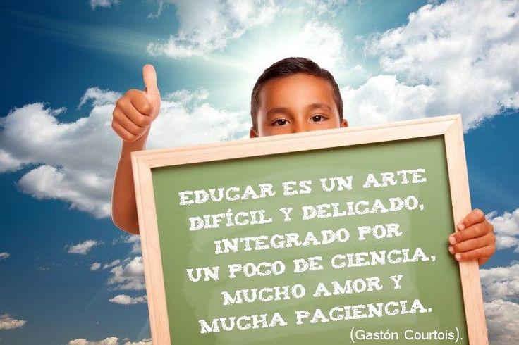 Educar es un arte.