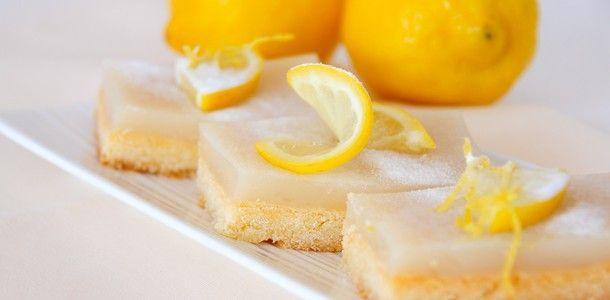 Zitronenschnitten glutenfrei, milchfrei & fructosearm