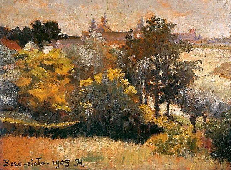 Jacek Malczewski - Landscape Boże Ciało