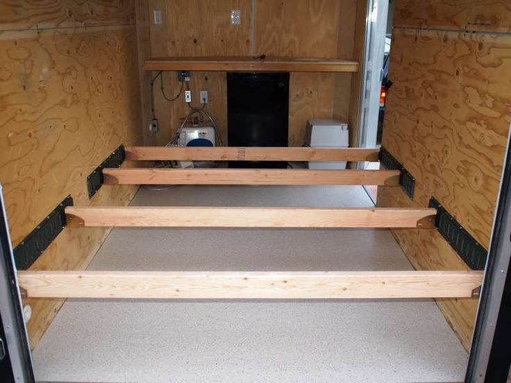 Creative Ideas For Enclosed Trailer To Camper Conversion
