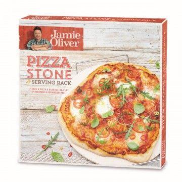 jamie oliver pizzastein mit serviergestell von jamie. Black Bedroom Furniture Sets. Home Design Ideas