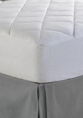 spring air illuna ultra plush comfort mattress pad white cal king