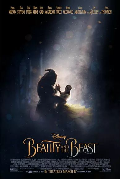 beauty and the beast new poster and trailer and release date #BeOurGuest