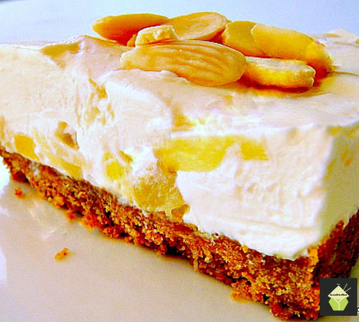 Creamy Pineapple Cheesecake..oh yes! A simple No Bake refreshing dessert ! ...... out of this world!