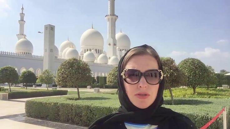 Что посмотреть в Абу Даби 2017? Секреты Эмиратов.Абу Даби мечеть шейха З...
