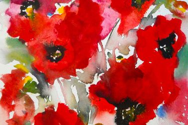 Poppies en masse IV