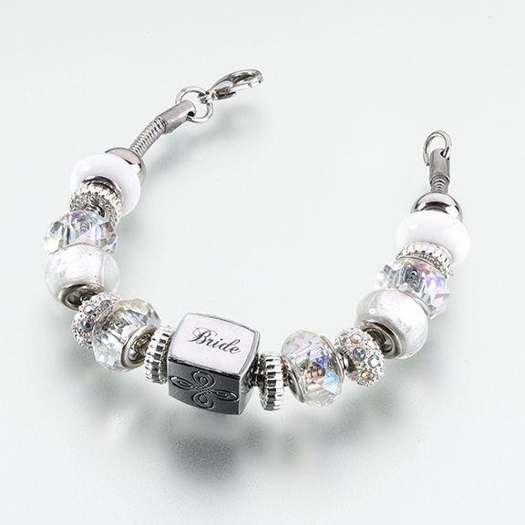 Bride Charm Bracelet. Ooh I really like this bracelet it's so pretty.