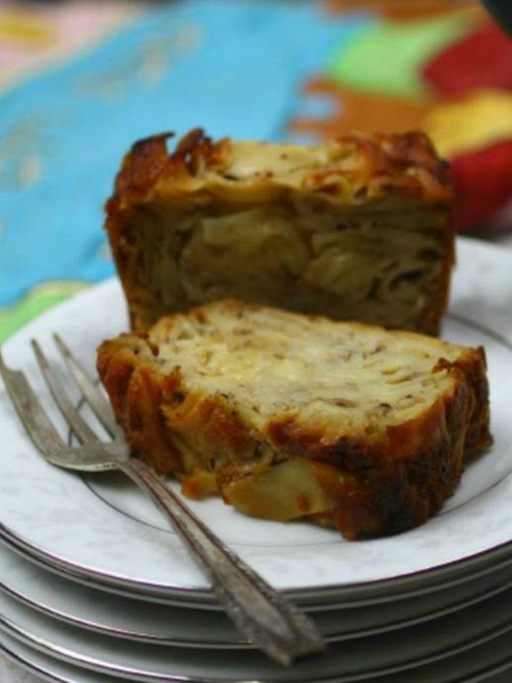 ... sweets Kugel on Pinterest | Noodles, Rosh hashanah and Potato kugel