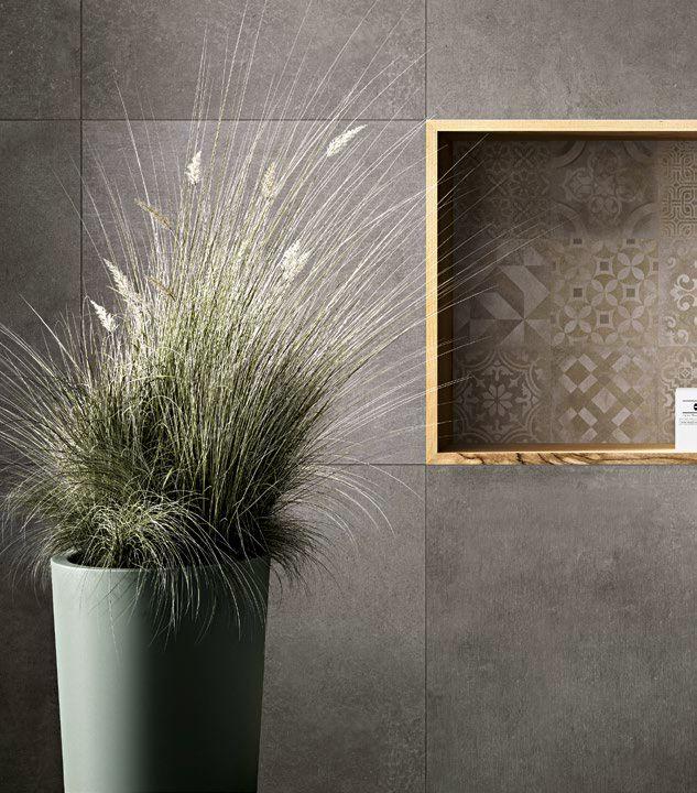#Ragno #Studio Antracite 60×60 cm R4PY | #Feinsteinzeug #Betonoptik #60×60 | im Angebot auf #bad39.de 19,9 Euro/qm | #Fliesen #Keramik #Boden #Badezimmer #Küche #Outdoor