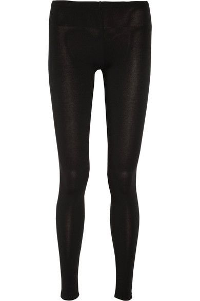Splendid - Stretch-jersey Leggings - Black - x small