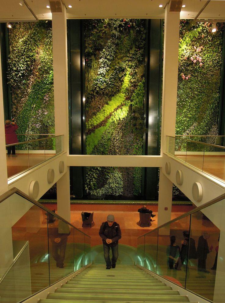 Staircase to the Vertical Garden, Düssmann KulturKaufhaus, Berlin, Jan. 2012